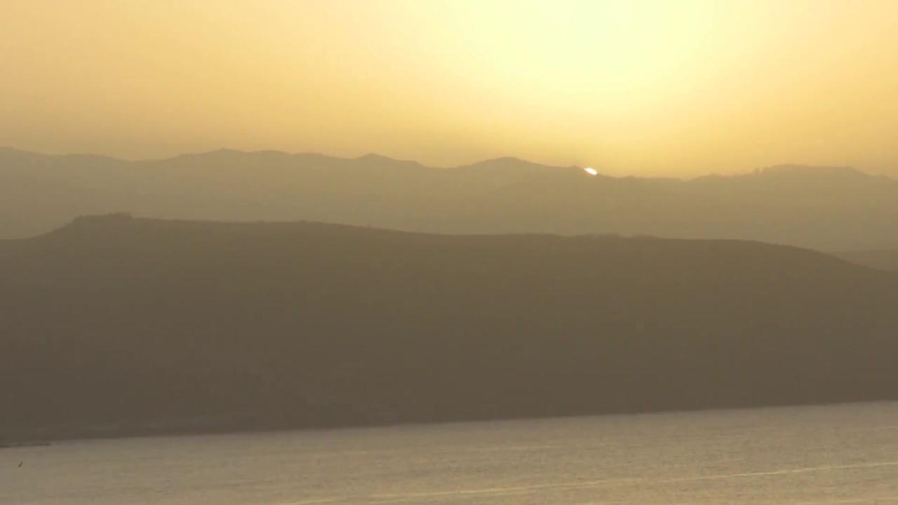 Auringonlasku<br /> Las Palmasissa