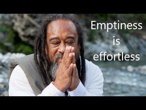 Mooji Guided Meditation: Emptiness Is Effortless