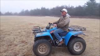 7. 1988 Yamaha Big Bear 350 ATV for sale   no-reserve Internet auction May 24, 2017