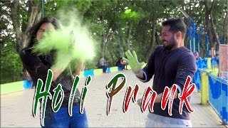 Eco-Friendly Holi Prank | The Bakchod feat. Oye it's Prank ✮Sanjay Vishwakarma | Ankita Singh |Akash