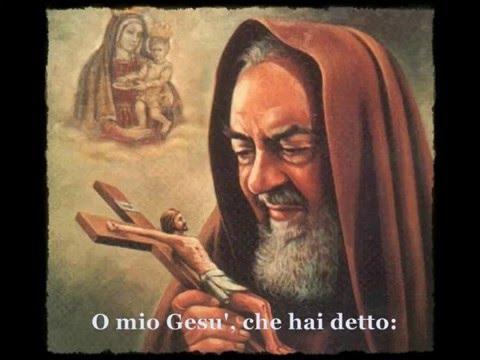 umile preghiera - ecco la coroncina recitata ogni giorno da padre pio.