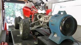 4. 2004 Honda TRX450R Dyno Pull - High Definition - HD