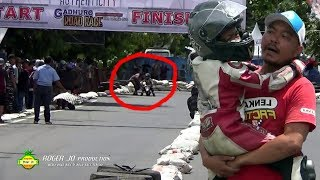 Video BIKIN MERINDING ; MOGOK DI DETIK FINISH ; BOCAH INI NANGIS BIKIN TERHARU ; Road Race TEGAL MP3, 3GP, MP4, WEBM, AVI, FLV Desember 2017
