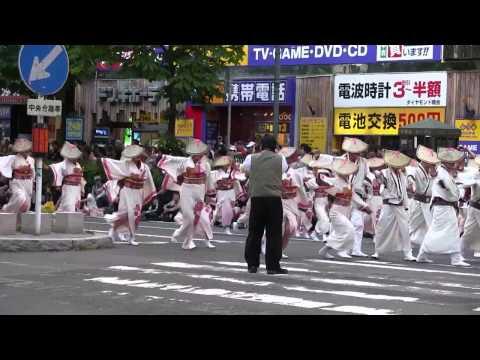 新琴似天舞龍神 2013YOSAKOI札幌四番街会場