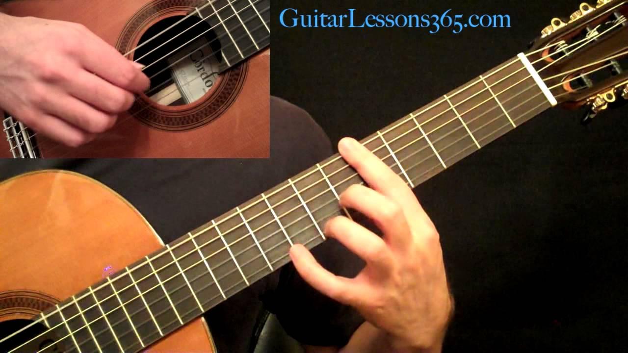 Romance – Acoustic Fingerstyle Guitar Lesson Pt.1 Romanza