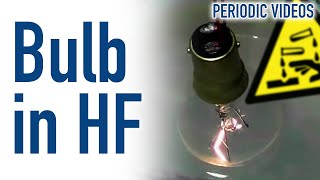 Light Bulb in Hydrofluoric Acid (HF)