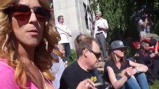 Global Marijuana March 2016 in Vancouver by Pot TV