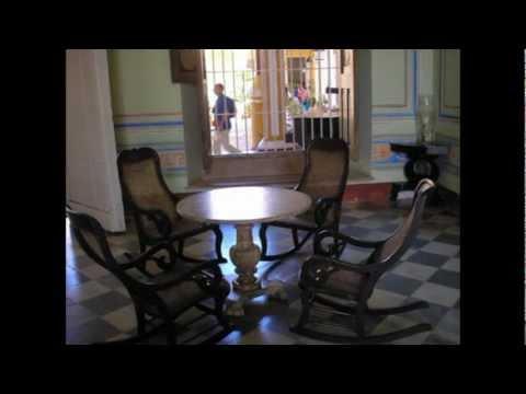 Cuba Trinidad Palacio Cantero museum Magnificent view Prachtig uitzicht over Trinidad