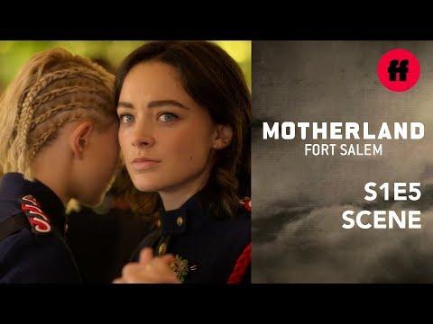Motherland: Fort Salem Season 1, Episode 5 | Scylla Tells Raelle She Loves Her | Freeform