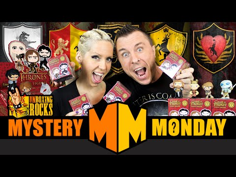 Mystery Monday Episode 7: Unboxing 4 Game of Thrones Funko Mystery Minis