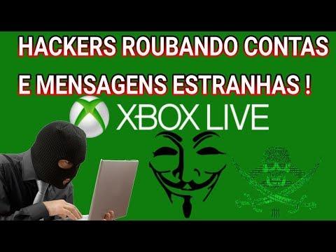 Maquiagem - XBOX LIVE- ROUBO DE CONTAS E MENSAGENS ESTRANHAS !