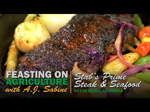Feasting On Agriculture -- Stab's Prime Steak & Seafood