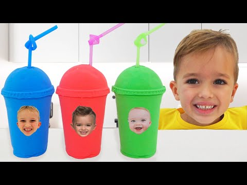Vlad and Niki Pretend Play with Baby Chris | Funny stories for kids