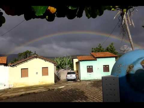 Lindo arco-íres  em Cravolândia Bahia.