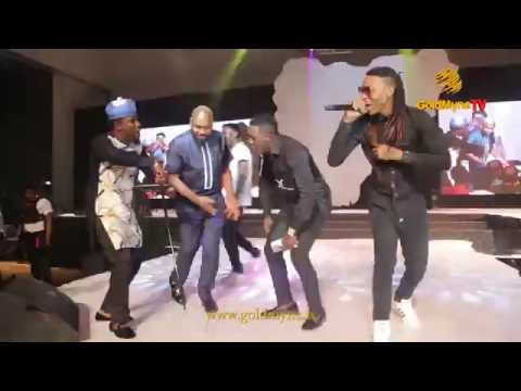 #SOLIDSTAR IGNITES THE STAGE DURING PERFORMANCE WITH YAW AND AY AT #SHALANGA