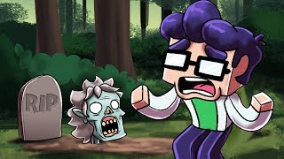 Minecraft - EVIL GRANNY BACK FROM THE DEAD! (Granny Horror Game)