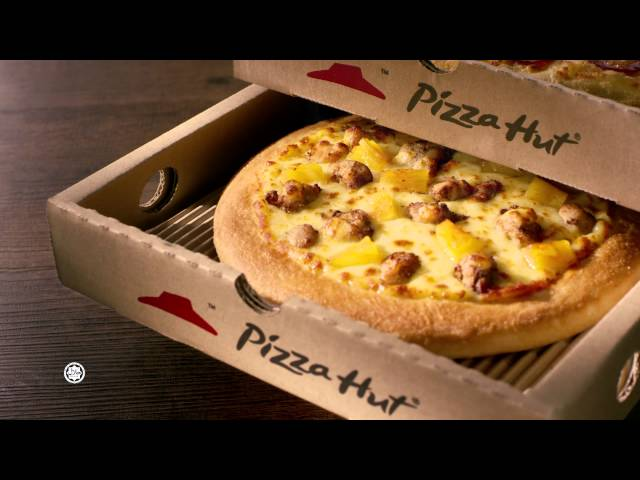 Pizza Hut Triple Box