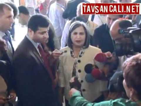 Selahattin Demirtaş'a Mermili Tehdit!