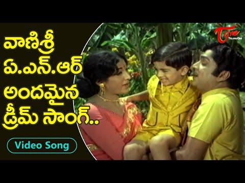 వాణిశ్రీ అందమైన డ్రీం సాంగ్ | Vanisri, ANR Super hit