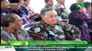 Video Prof. Dr. KH. Din Syamsuddin - Islam Nusantara Persatukan Indonesia MP3, 3GP, MP4, WEBM, AVI, FLV Juli 2018