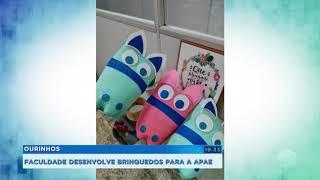 Faculdade de Ourinhos desenvolve brinquedos para crianças da Apae
