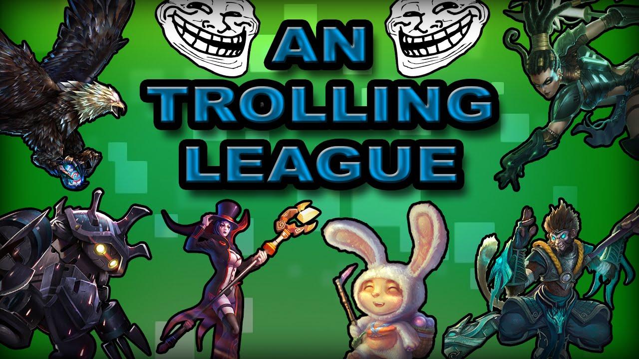 """Liên Minh Huyền Thoại: những pha troll game """"máu dồn lên não"""" :))"""