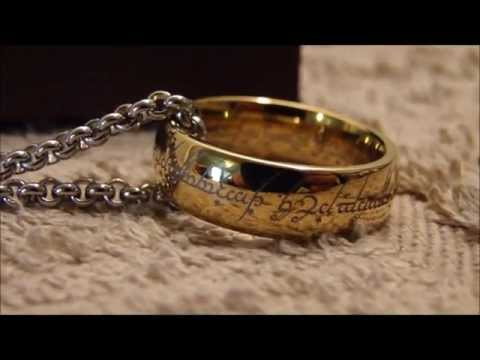 Lord of the Rings The One Ring and chain FOR SALE