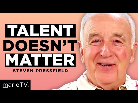 Steven Pressfield: Overcoming Resistance & Why Talent Doesn't Matter