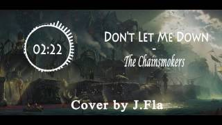 Audio Spectrum: Don't Let Me Down ( cover by J.Fla ) Video