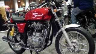4. 2013 Royal Enfield Bullet 535 Cafe Racer Motorcycle