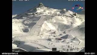 Silvretta Arena Ischgl - Samnaun Ischgl Idalp webcam time lapse 2010-2011