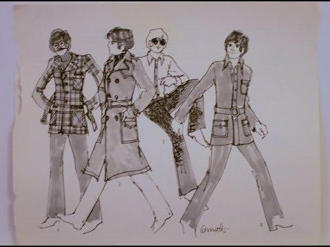 Annette, som var modetegner til aviser og ugeblade i 1960erne fortæller om moden i 1960erne, om designeren Mary Quant og hendes ultramagre model, Twiggy
