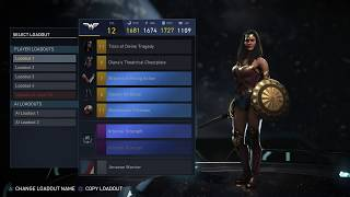 Here's the new Wonder Woman Multiverse event thats started today.