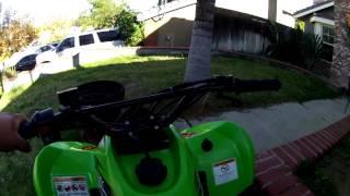 10. 2011 Kawasaki KFX 90 wit FMF full exhaust