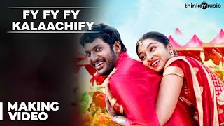 """Making of Fy Fy Fy Kalaachify Song"" Movie: Pandiyanaadu Starcast: Vishal & Lakshmi Menon Director: Suseenthiran Composer:..."