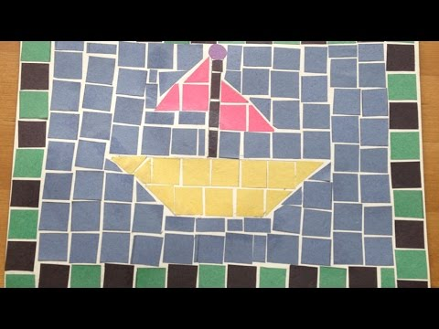Mosaico para Crianças