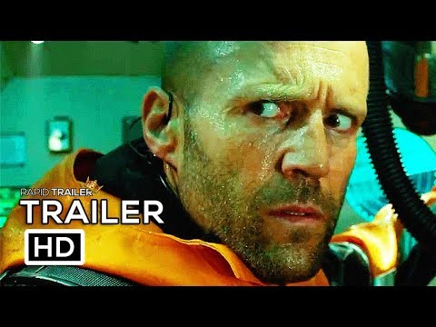 Trailer Resmi MEG (2018) Jason Statham Shark Horror Movie HD