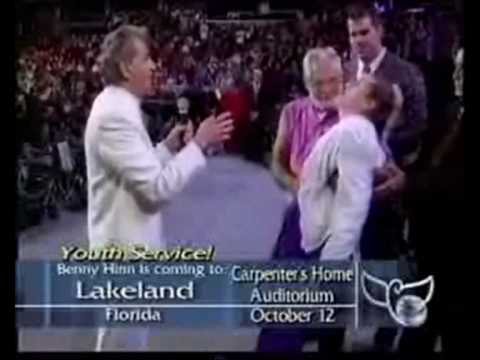 Unbeliever Received God's Power during Benny Hinn Crusade