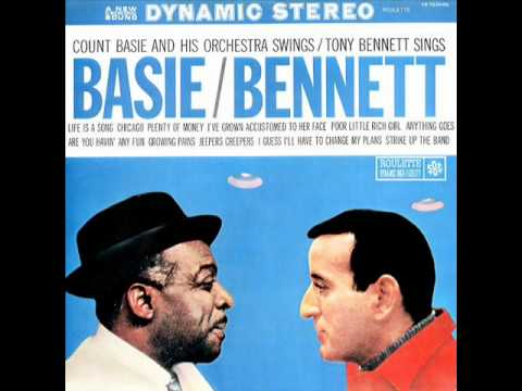Tony Bennett and Count Basie – I've Grown Accustomed To Her Face