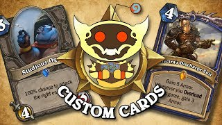 TOP CUSTOM CARDS OF THE WEEK #19 | Card Review | Hearthstone