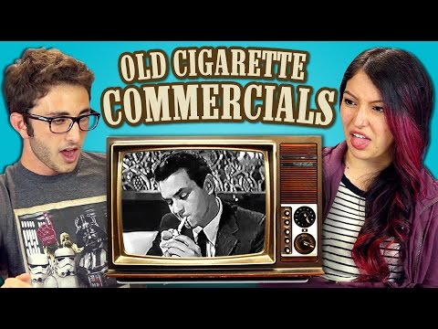 Teens React to Cigarette Commercials