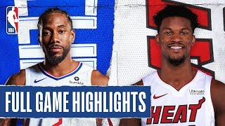 CLIPPERS at HEAT | FULL GAME HIGHLIGHTS | January 24, 2020 by NBA