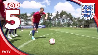 Subscribe to FATV: http://bit.ly/FATVSub Take a look at the best training goals scored by the England U21 squad. The FA is For...