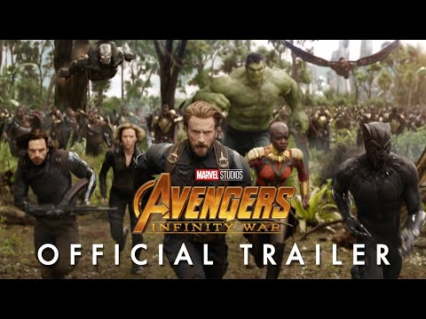 Marvel Studios' Avengers: Infinity War Official Trailer (видео)