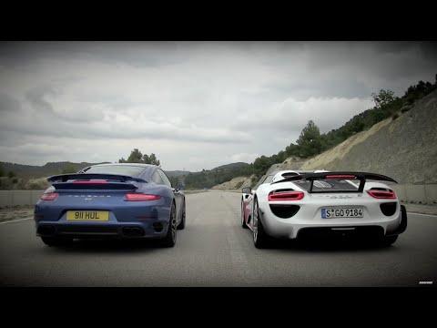 Porsche 911 vs 918 – Speed Week 2014: TopGear Magazine