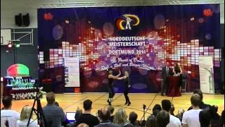 Tabea Gagelmann & Jonas Gagelmann - Norddeutsche Meisterschaft 2014