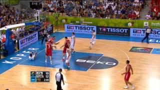 Dunk of the Game S.Erden ITA-TUR EuroBasket 2013