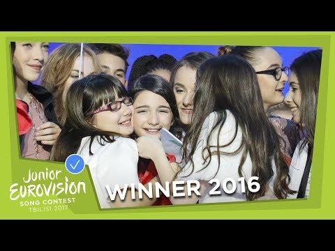 Mariam Mamadashvili - Mzeo (Georgia) LIVE Junior Eurovision 2016 (видео)