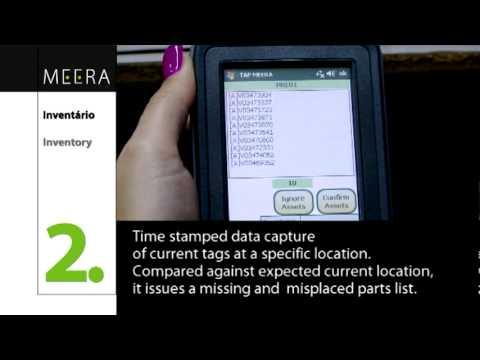 Tecnologia RFID em pleno funcionamento na TAP M&E / Mobile RFID fully operational at TAP M&E