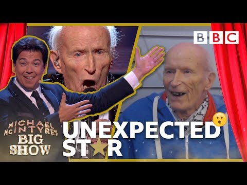 Surprise prank goes 😂 wrong when 91 year old David meets actor Lionel Blair - BBC
